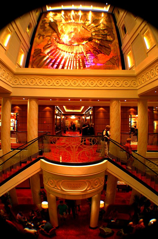 Queen Mary 2  Grand Lobby 3