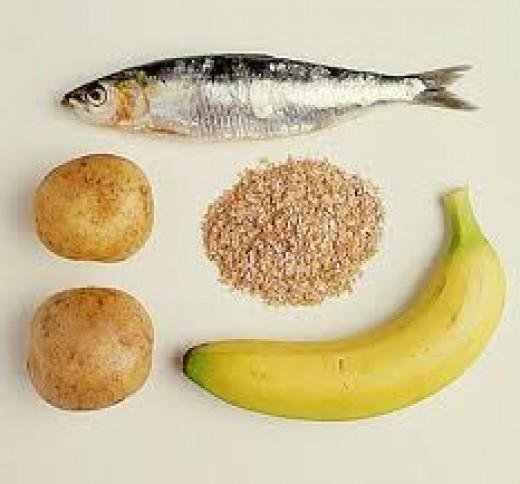 Vitamin B is found in fresh food