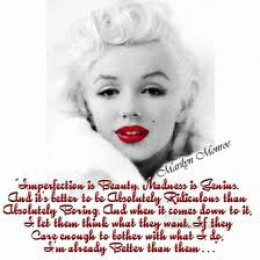 Did Marilyn's AS lead to her lifelong battle with depression? Read my article and decide.