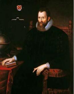 Portrait of John Napier (1550-1617), the inventor of logarithms