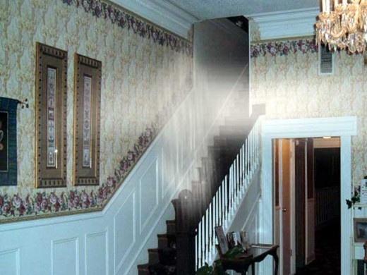 A seemingly 'almost there' apparition in Jefferson Hotel.
