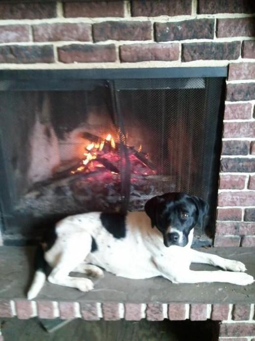 Sylvanas enjoying the fire