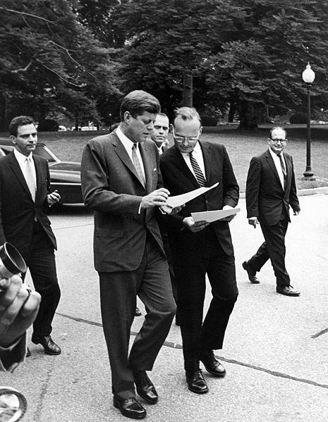 McGeorge Bundy Talking to JFK