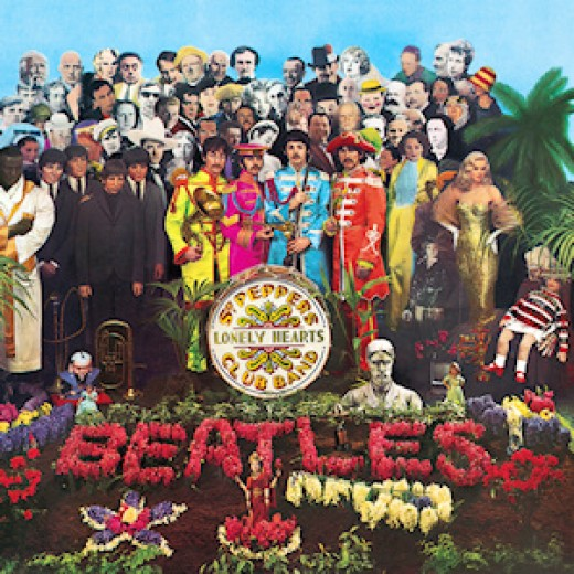 Sgt. Pepper's Lonely Hearts Club Band : Cover