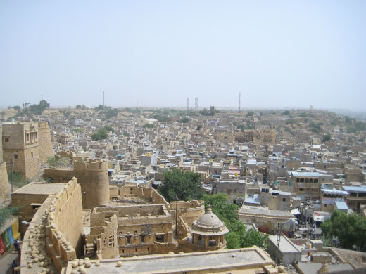 Jaisalmer - from top of the fort