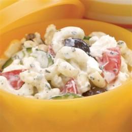 Yogurt and Macaroni Salad