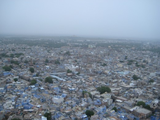 Jodhpur city from Mehrangarh