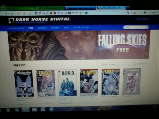 Dark Horse Comics Digital