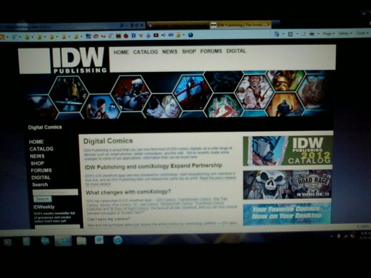 IDW Publishing Digital