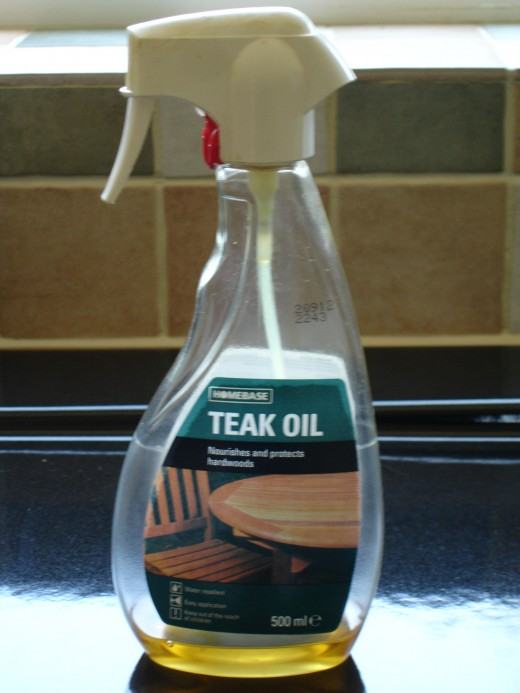 This teak oil product could have killed our dog
