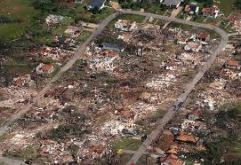 Aftermath of The Tuscaloosa Twister which occurred in April of 2011 and killed over 200 Alabamians.