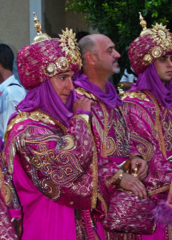 Villajoyosa's Moors and Christians festival