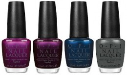 OPI Suzy and the Seven Dussledorfs, Every Month Is Oktoberfest, Unfor-Greta-bly Blue, Nein! Nein! Nein! Ok Fine!