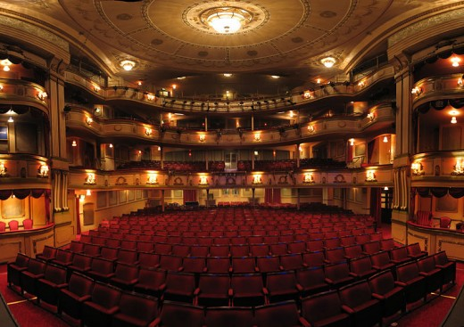 Haunted theatres may give you a wider experience other than the show.