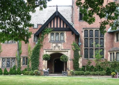 Stan Hywet, Tudor Revival House, Akron, OH.