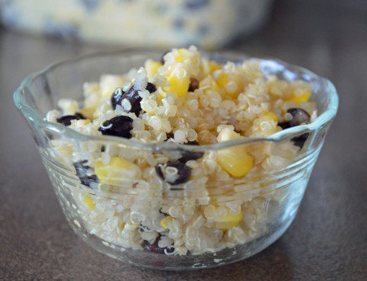 Try quinoa in black bean, corn and quinoa salad