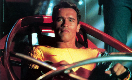 Arnold Schwarzenegger in The Running Man (1987)