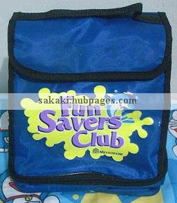 Have I mentioned that there is a welcome gift upon opening an account? An insulated lunch bag indeed! Though based on my experience, they didn't give it to me immediately. I was told that the gift's out of stock. I just made further actions.;)