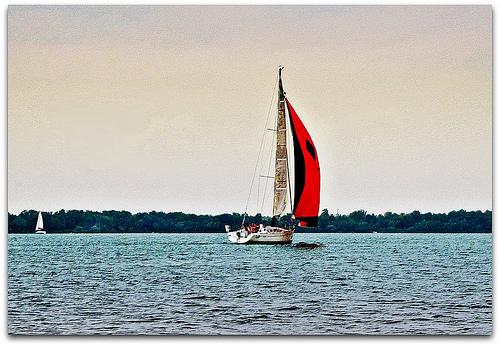 Sailing near Erie PA
