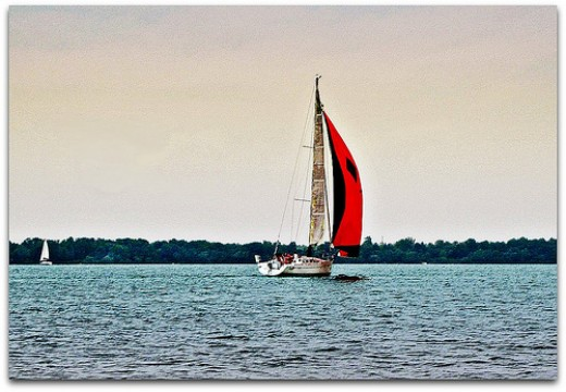 Sailing near Erie PA
