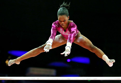 """They call this athlete """"The Flying Squirrel""""!"""