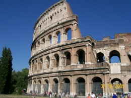 Another angle of The Roman Coliseum