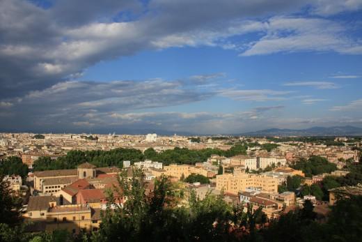 Overlooking Rome