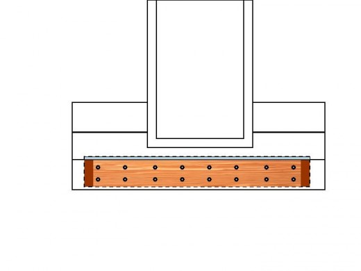 Fig 3. Ledger Holes