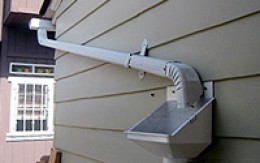 Roof Gutter - Directs rainwater from the roof to the rain barrel.