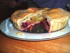 Recipe for Deep Fruit Pie and Grandma's Purse