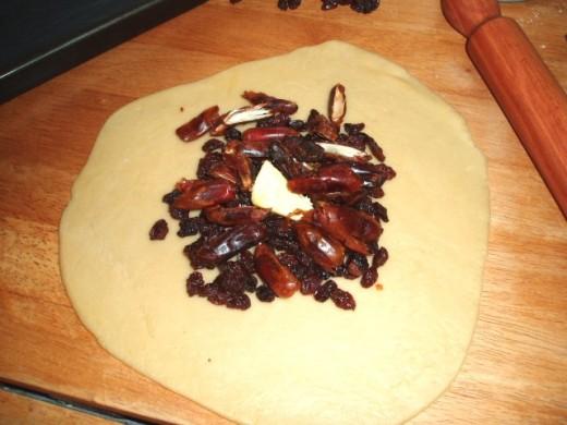 raisins and dates