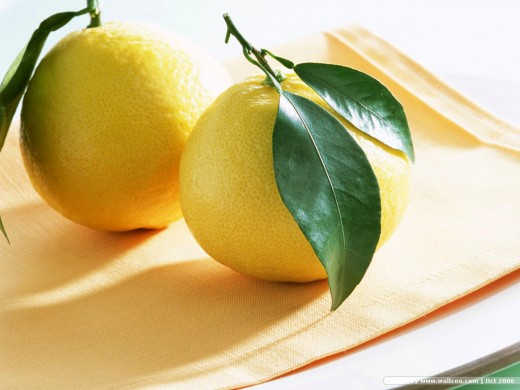 Lemons: Cleansing Properties