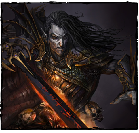 Malus Darkblade, as seen on the MOBA's official site