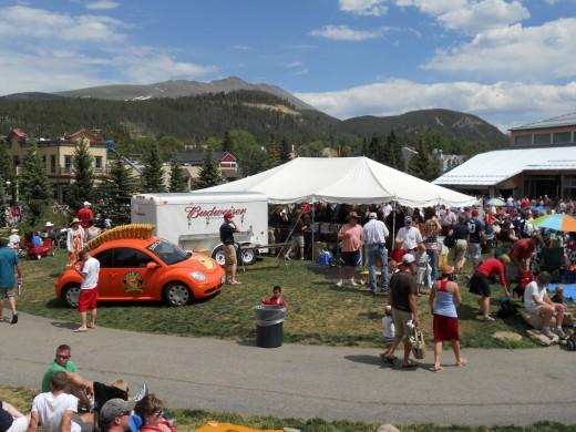 4th of July in Breckenridge, Colorado