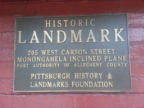 Monongahela Incline. A Historic Landmark in Mt Washington
