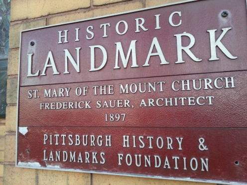 St Mary of The Mount Church. A Historic Landmark in Mt. Washington