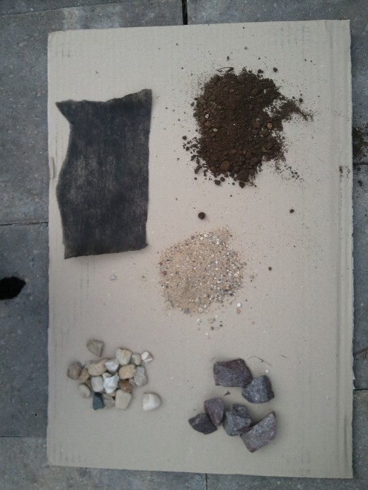 Terrarium materials