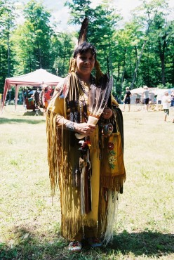 Native American Regalia at Dokis First Nations Pow-wow, 2012