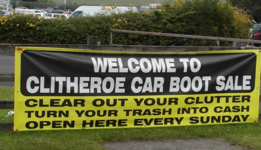 Clitheroe Car Boot Sale