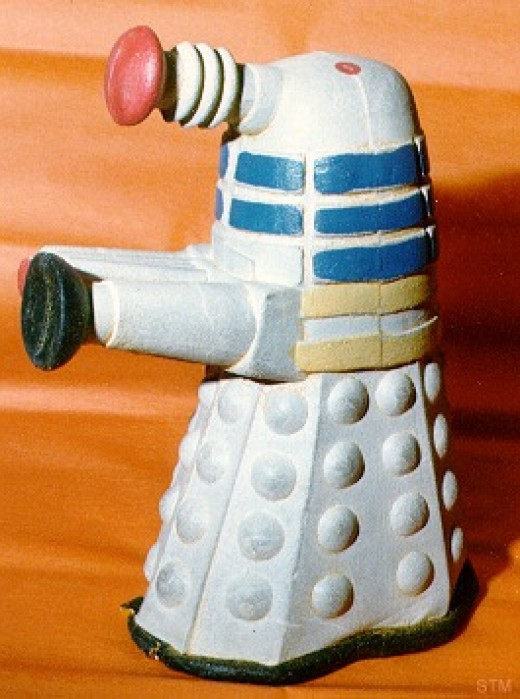 1965 Foam and bendy Dalek, very rare indeed!