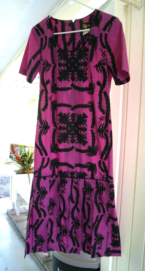 Mu'umu'u by Hawaiian Designer, Mamo Howell