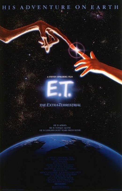 E.T. Hollywood classic of 1982, I was 7 years old when I seen the awesome science fiction film, and cried my butt off