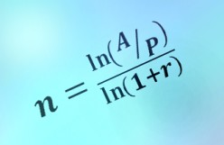 How to Solve for the Period in a Compound Interest Problem