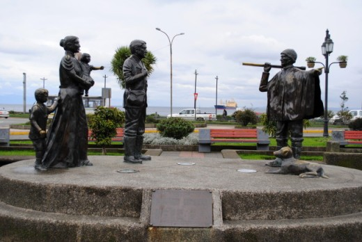 This Monument is relatively new, and it recognizes the contributions of the German immigrants in this area of Chile
