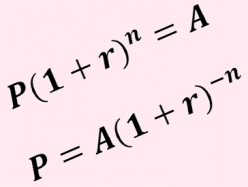 How to Solve for the Principal in a Compound Interest Problem