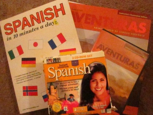 Spanish Resources: Books, Video, Audio