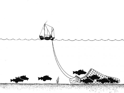 How a trawler works