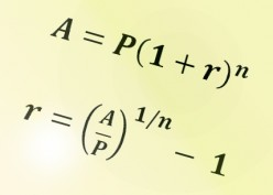 How to Solve for the Interest Rate in a Compound Interest Problem