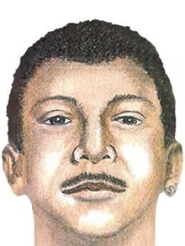 Police produced this composite sketch of the Fairmount Park Rapist after detailed victim and eyewitness accounts.