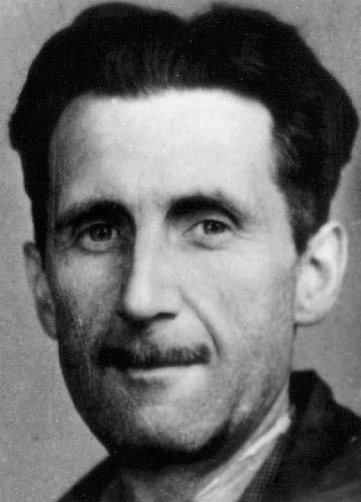 George Orwell Press Photo, 1933. Photo Author Unknown. Public Domain Image.